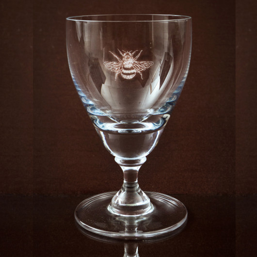 Asquith Stemmed glass Bee
