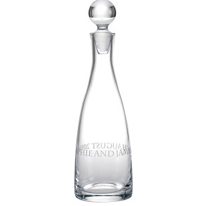 Personalised Decanter