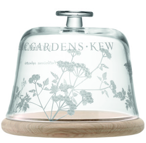 Kew Heritage glass dome on oak base