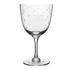 VINTAGE COLLECTION Wine glass Stars Wine glass