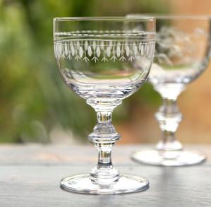 The Vintage list Wine goblets