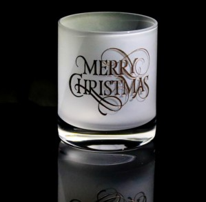 MERRY CHRISTMAS FROST TUMBLER