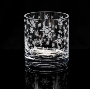 SNOW FLAKE CANDLE HOLDER